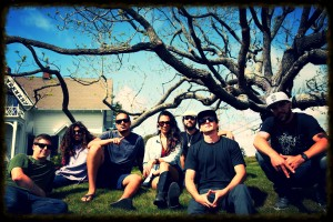 The Dubbadubs under Arcata tree