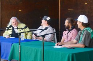 Educational panel at Cannifest